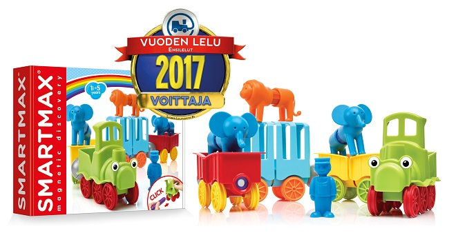 Vuoden Lelu 2017 SmartMax My First Animal Train