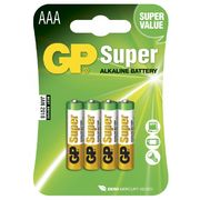GP Super Alkaline AAA-paristot