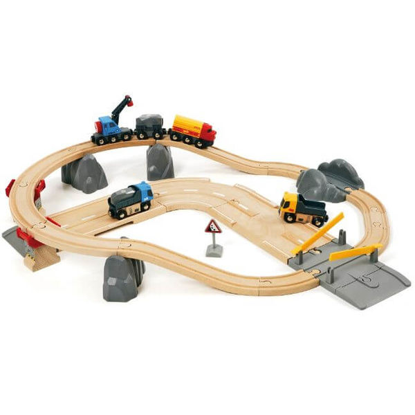 BRIO Rail & Road Kivenlastaus ratasetti