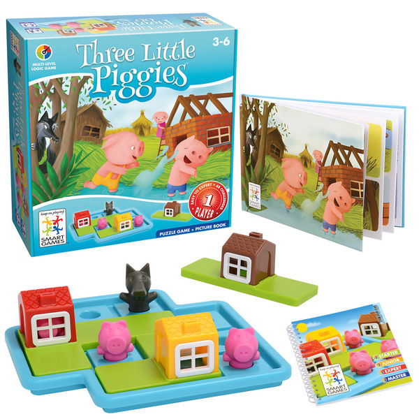SmartGames Three Little Piggies