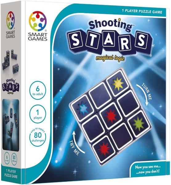 SmartGames Shooting Stars, pakkaus