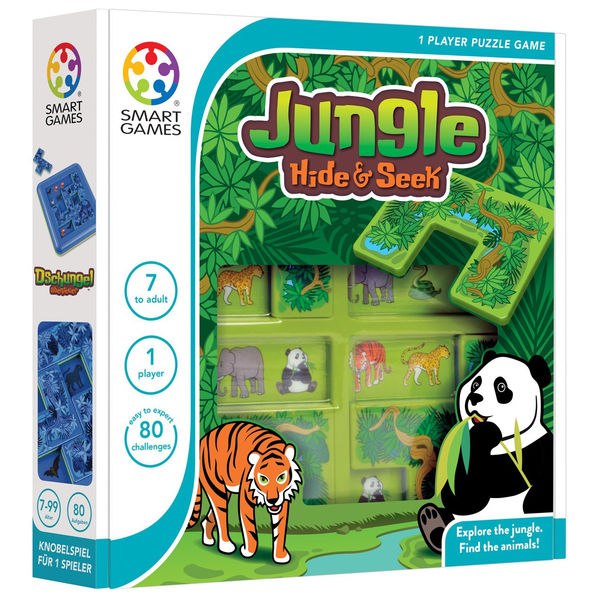SmartGames Jungle Hide and Seek -logiikkapeli
