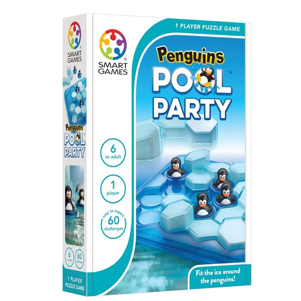 Penguins Pool Party box