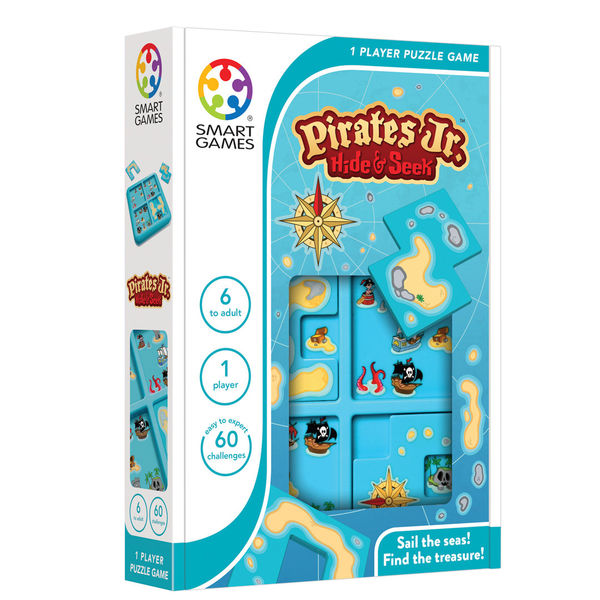 SmartGames Pirates Jr. - logiikkapeli